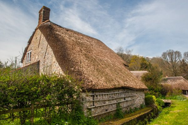 Branscombe photo, The Old Bakery from the rear