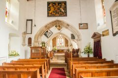 Breamore Saxon Church