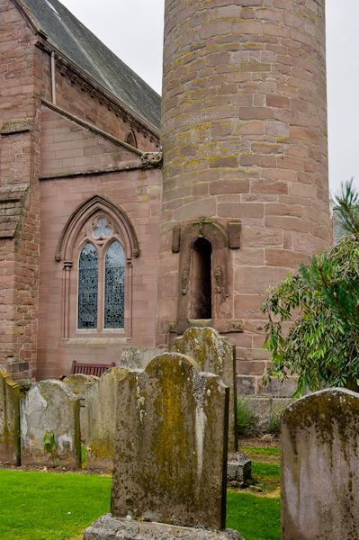 Brechin Cathedral Round Tower photo, View from the churchyard