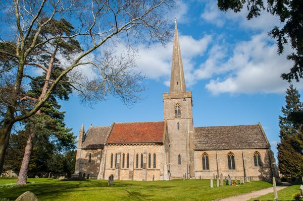 Bredon photo, St Giles church