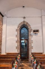 Brendon, St Brendan's Church, The very narrow tower arch