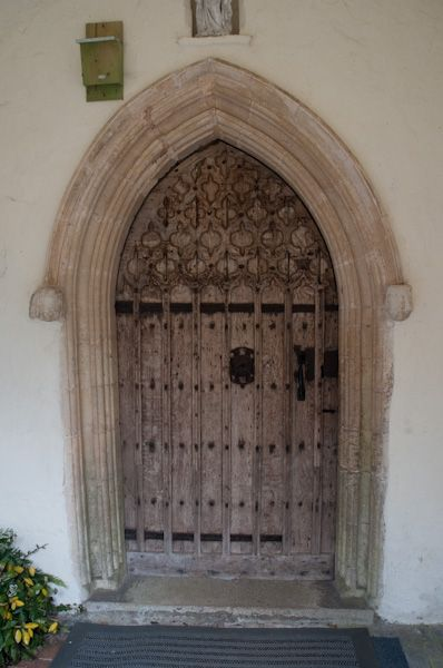 Brent Eleigh, St Mary's Church photo, South doorway
