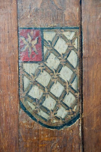 Brent Eleigh, St Mary's Church photo, Painted coat of arms