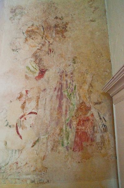 Brent Eleigh, St Mary's Church photo, Harrowing of Hell wall painting