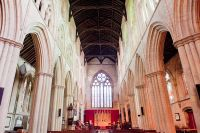 Bridlington Priory, Looking down the nave
