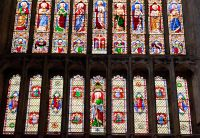 Bridlington Priory, West window