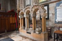 Bridlington Priory, Medieval arcade