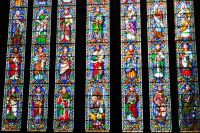 Bridlington Priory, East window stained glass