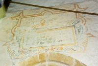 Wall painting, north aisle