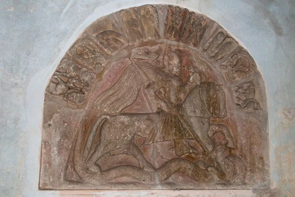 Brinsop, St George's Church photo, Romanesque Tympanum
