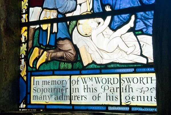 Brinsop, St George's Church photo, Wordsworth window