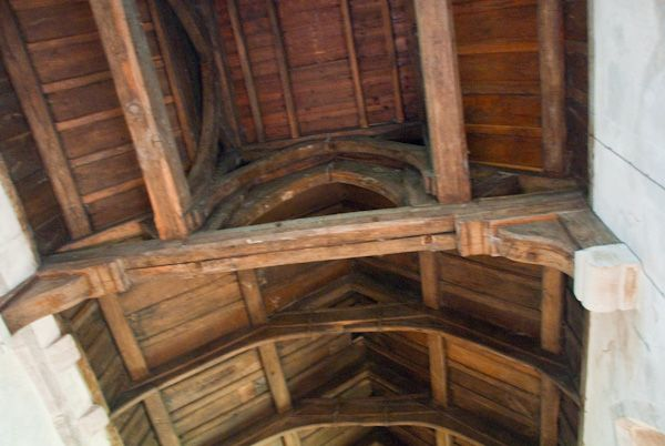Brinsop, St George's Church photo, Nave roof