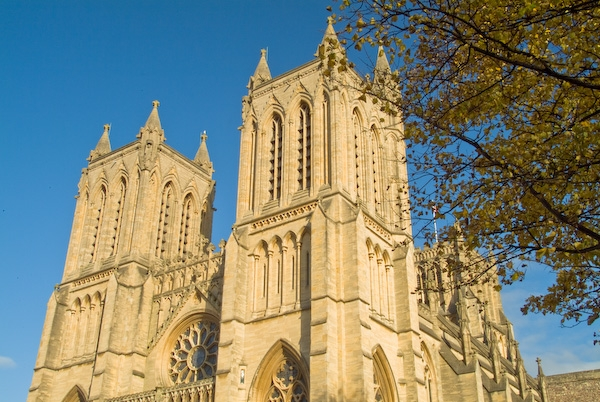 Bristol Cathedral photo, Bristol Cathedral West Front