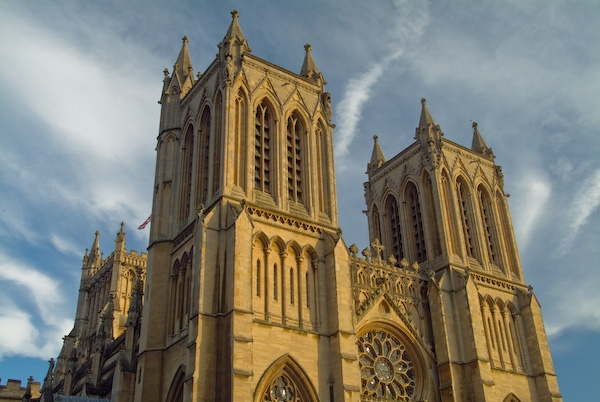 Bristol Cathedral photo, West Front