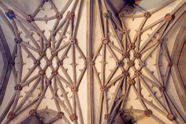 Bristol Cathedral photo, Transept vaulting