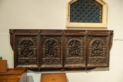 17th century Belgian panels