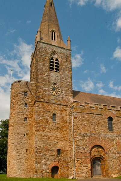 Brixworth, All Saints Church photo, External stair turret