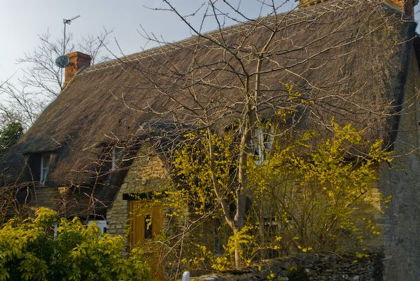 Brize Norton photo, Thatched cottage