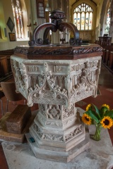 The ornate font