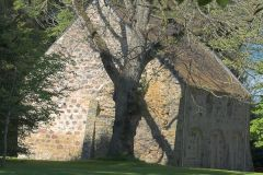 Medieval chapel in the trees