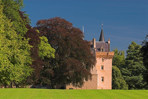 Brodie Castle photo, The castle from the grounds