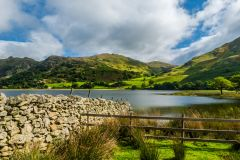 A typical Lake District scene at Brothers Water