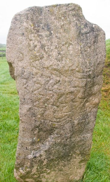Bryn Celli Dhu photo, Standing stone