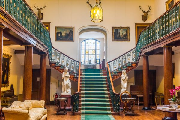 Brynkinalt photo, The staircase hall