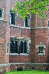 Buckden Towers, 16th century tower windows and brickwork