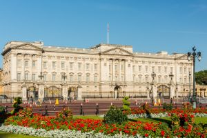 Buckingham Palace and the Queens Gallery London