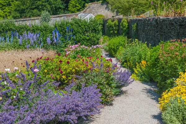 Buckland Abbey photo, The walled gardens