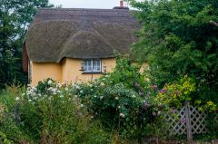 Post Office cottage from the garden