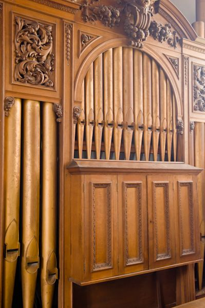 Bugthorpe, St Andrew's Church photo, Organ