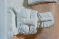 Norman carving