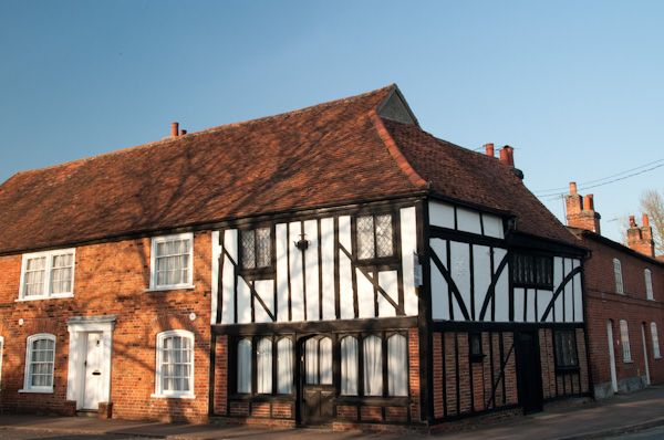 Bures photo, Timber framed buildings