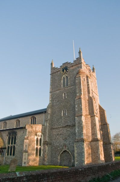 Bures, St Mary's Church photo, West tower