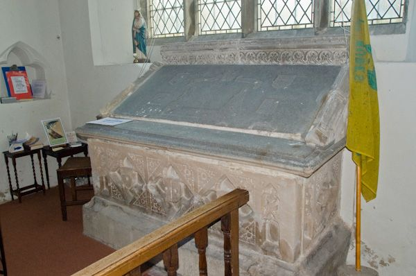 Bures, St Mary's Church photo, Waldegrave Chapel tomb