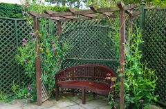 Burnby Hall Gardens, A quiet garden seat
