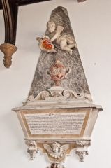 Memorial to Sir Griffith Boynton (d 1761)
