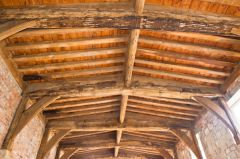 Manor roof timbers