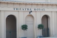 Theatre Royal, Bury St Edmunds, Front entrance