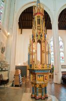 St Edmundsbury Cathedral, Font cover