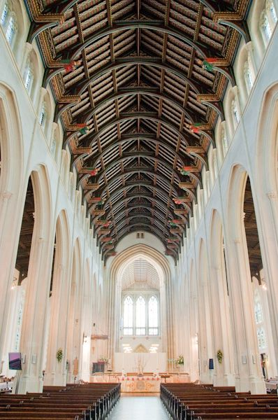 St Edmundsbury Cathedral photo, The Cathedral nave