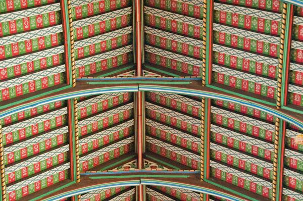 St Edmundsbury Cathedral photo, Nave roof