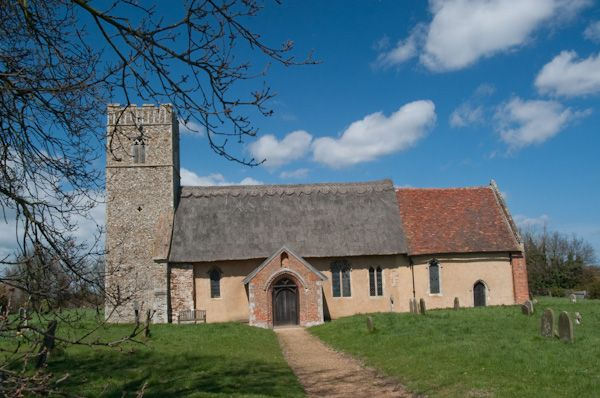 Butley, St John the Baptist Church photo, South exterior view