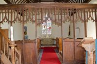 15th century rood screen