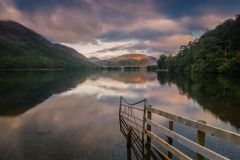 Buttermere Lake, Sunrise over Buttermere