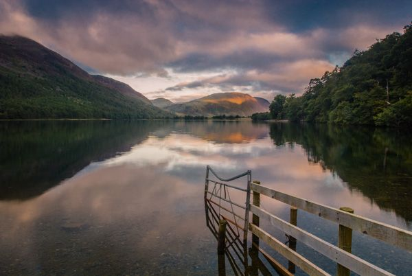 Buttermere Lake photo, Sunrise over Buttermere