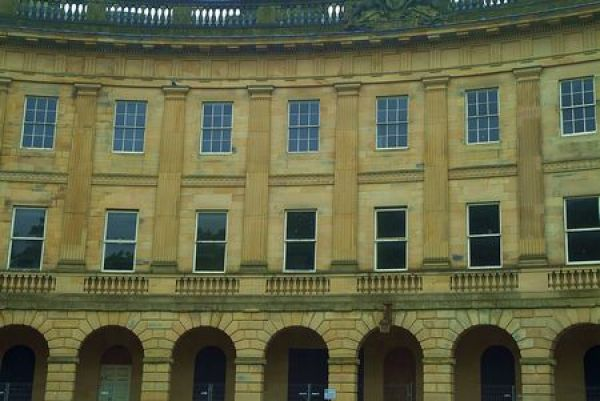 Buxton photo, The Crescent