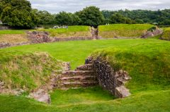 Caerleon Roman Fortress, Baths, and Amphitheatre